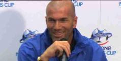 O ex-jogador francês Zinedine Zidane será o novo técnico do Real Madrid Castilla