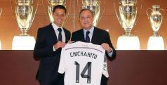 Chicharito atuará pelo Real Madrid