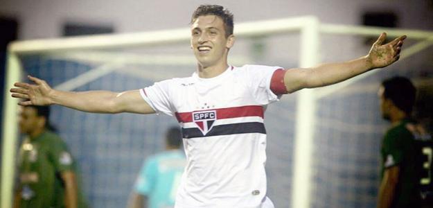 O jogador de  base do São Paulo irá atuar na segunda divisão espanhola
