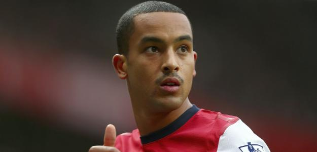Theo Walcott foi destaque do Arsenal na última rodada da Barclays Premier League