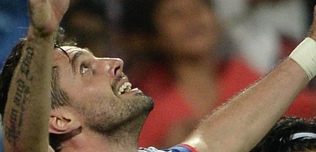 André Moritz fez três na goleada do Mumbai sobre o Pune City