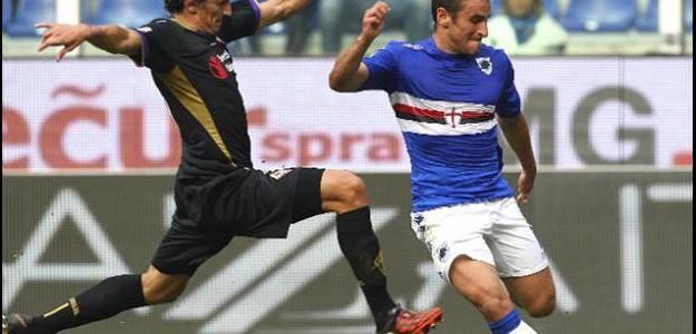 Bergessio negou que esteja retornando à Argentina e segue na Sampdoria