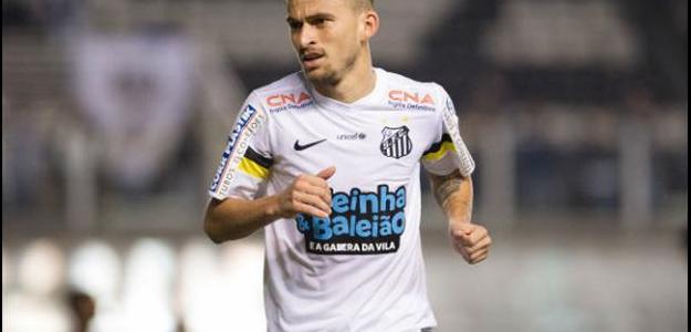 Lucas Lima acertou sua permanência no Santos