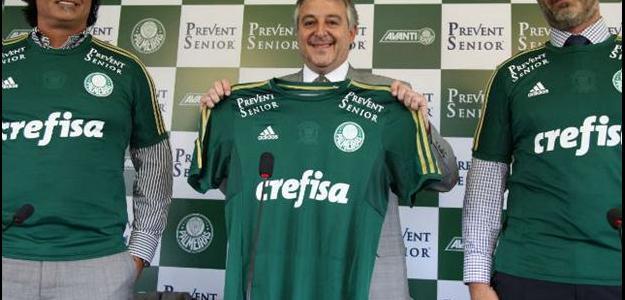 Anuncio do novo patrocinador do Palmeiras foi feito nesta segunda-feira