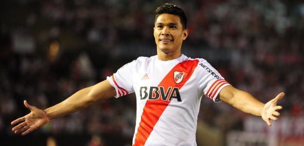 Teo Gutiérrez foi pensa fundamental na campanha do River Plate até aqui na Libertadores