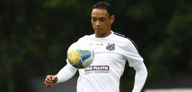 Ricardo Oliveira tem contrato com o Santos até domingo (3 de maio)