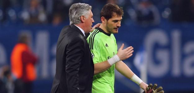 Tanto Carlo Ancelotti como Iker Casillas continuam no Real Madrid