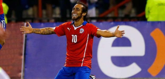Valdívia vem fazendo uma grande Copa América pelo Chile