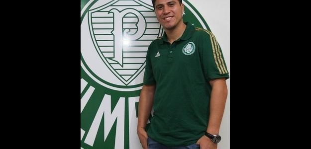 """Palmeiras anuncia reforço, e Cristaldo diz: """"Gana nunca vai me faltar"""""""