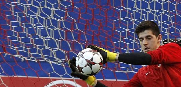 Courtois deve permanecer no Atlético de Madrid