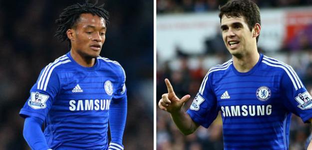 Cuadrado e Oscar podem estar próximos de deixar o Chelsea