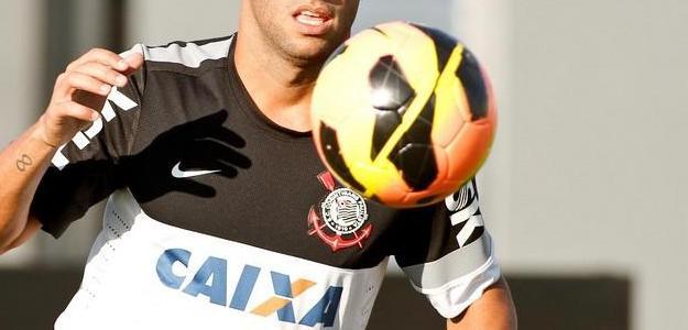 Ibson ainda com a camisa do Corinthians