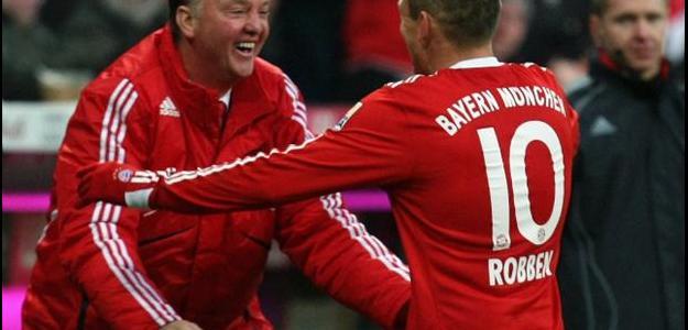 O Bayern de van Gaal e Robben só foi parado na final, pela Inter (2009-10)