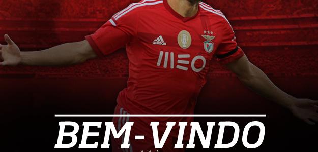 Facebook do Benfica oficializou o acerto com o atacante Jonas