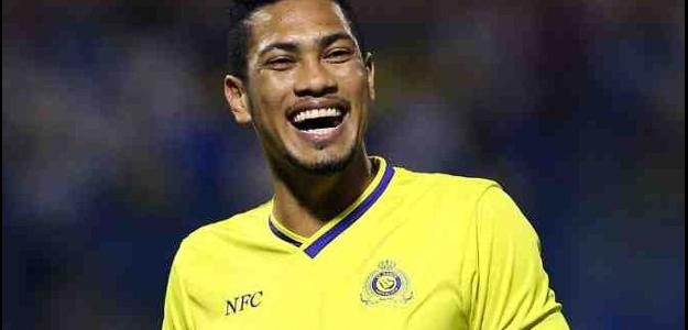 Hernane rescindiu com o Al Nassr (ARS) e pode desembarcar no Grêmio