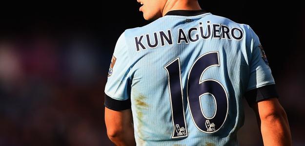 Aguero vive ótima temporada jogando pelo Manchester City