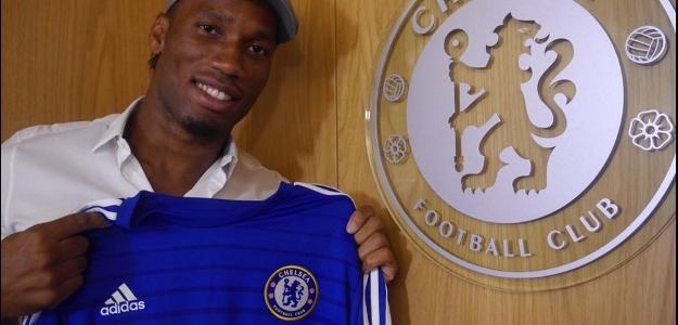 Didier Drogba retorna ao clube inglês