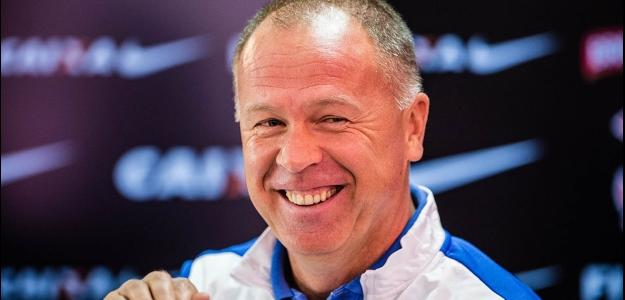Mano Menezes, técnico do Corinthians, durante coletiva de imprensa