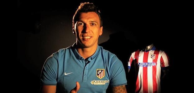 O atlético de Madrid agora contará com Mario Mandzukic