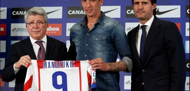 Mandzukic é o novo substituto de Diego Costa no Atlético de Madrid