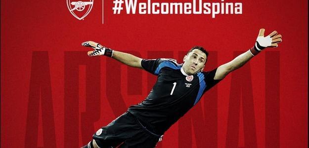 O goleiro colombiano agora fará parte do elenco do clube inglês, Arsenal.