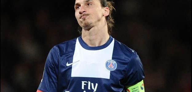 Zlatan Ibrahimovic tem contrato com o PSG até 2016