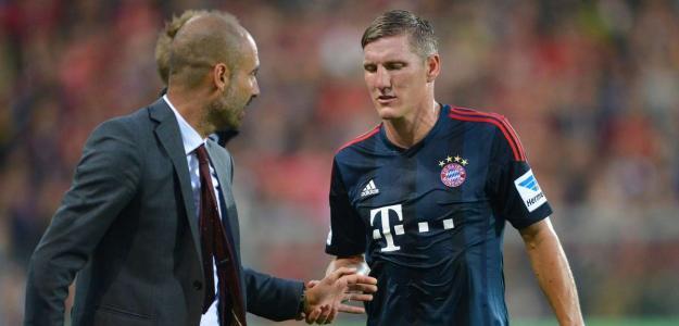 """A mim, basta dizer que ele tem contrato e é parte dos meus planos para a próxima temporada"""", declarou Guardiola"""