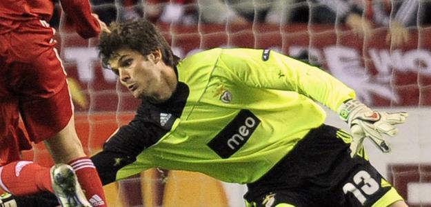 Júlio Cesar, novo goleiro do Getafe