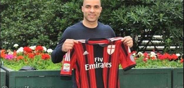 O atleta agora defenderá o clube italiano