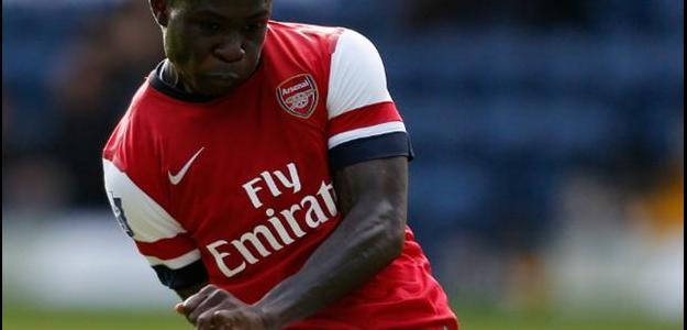 Atualmente no russo Ufa, Frimpong não disfarçou que acompanha o Arsenal