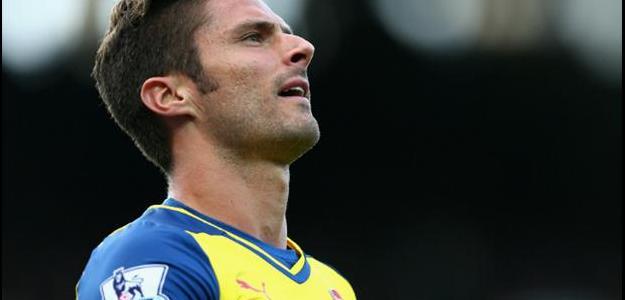 Giroud jogou duas partidas e marcou um gol nesta temporada