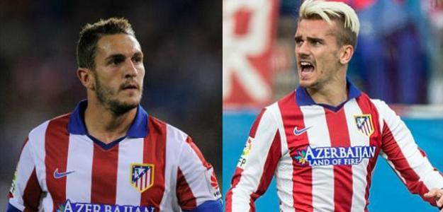 Atlético de Madrid lutará para manter Koke e Griezmann