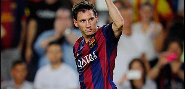 Lionel Messi estreou pelo Barcelona em outubro de 2004