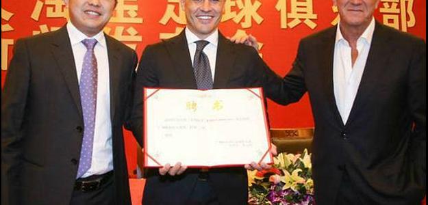 Tetracampeão a Itália em 2006, Fabio Cannavaro assumiu o Guangzhou Evergrande