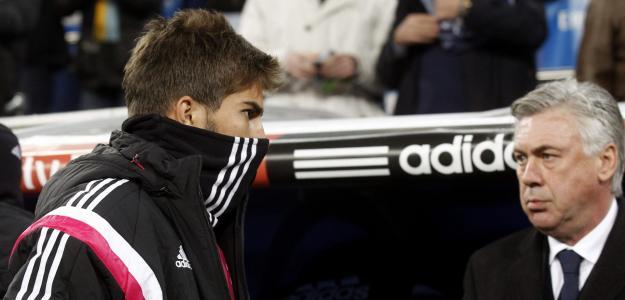 Lucas Silva conta com o apoio de Ancelotti no Real Madrid