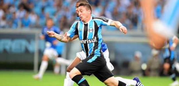 Cebolla atuando pelo Grêmio