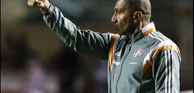 A noite de quinta-feira foi repleto de hostilidades para o técnico do Fluminense