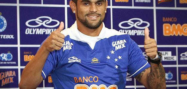 Luan deixa o Cruzeiro, onde está desde a temporada 2013