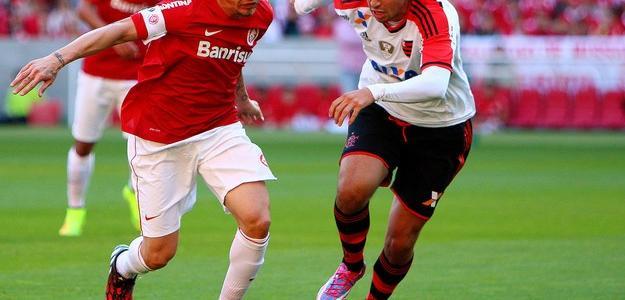Mugni participou do jogo contra o Internacional, no último domingo