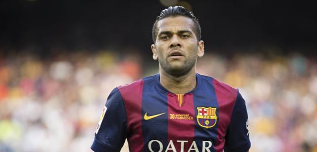 Daniel Alves está a sete temporadas no Barcelona