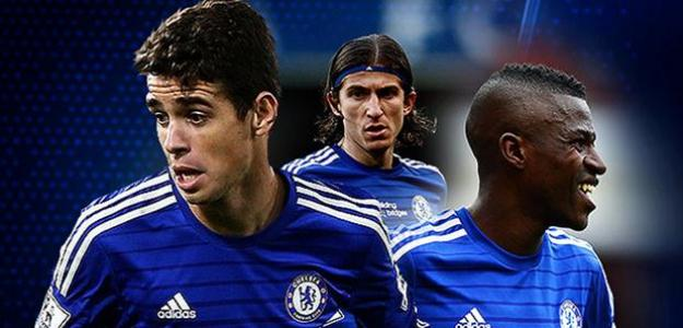 Oscar, Ramires e Filipe Luís estão a perigo no Chelsea