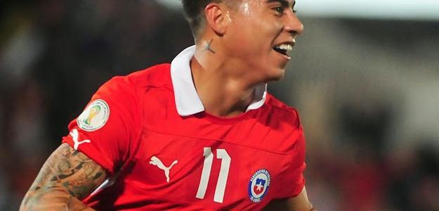 O Arsenal também estava interessado no chileno