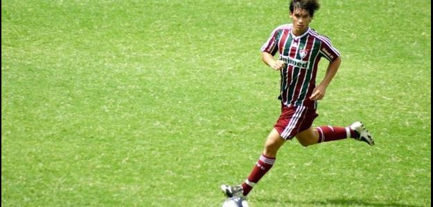Fábio Braga subiu aos profissionais do Flu em 2012