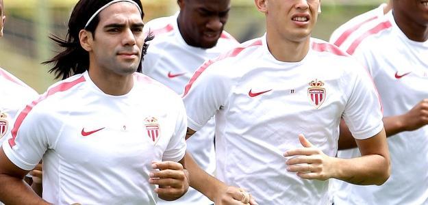 Falcao vem treinando normalmente no Monaco
