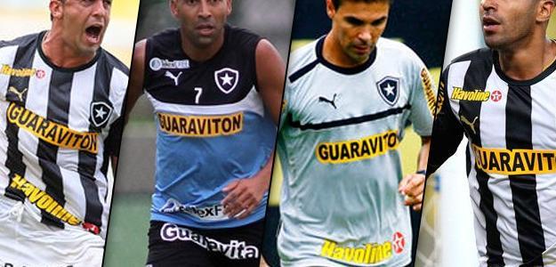 Quatro jogadores do Botafogo foram afastados e estão sem clube