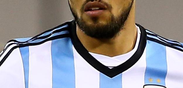 Jogador atuando pela seleção Argentina