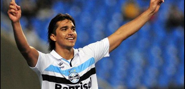 O atacante chegou ao Grêmio em 2012, mas nunca conseguiu se destacar
