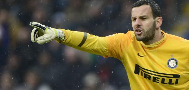 Samir Handanovic é mais um alvo para o Manchester United