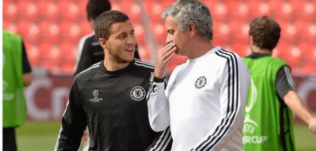 Com o auxílio de Mourinho, Hazard vem fazendo uma grande temporada