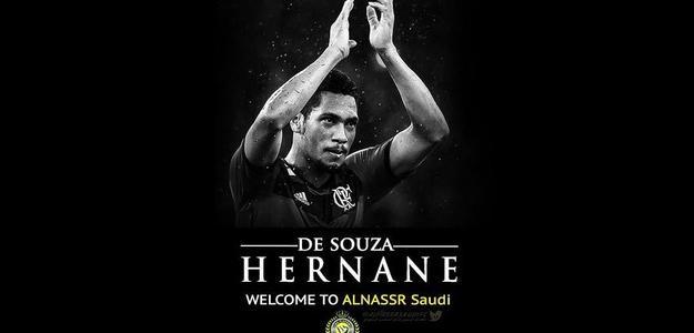 Mensagem do Al Nassr sobre contratação de Hernane